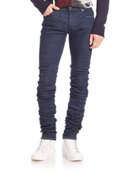 Diesel Black Gold Skinny Fit Jeans Blue