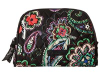 Vera Bradley Medium Zip Cosmetic Kiev Paisley Cosmetic Case Multi