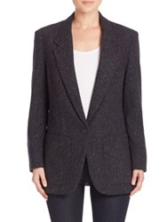 Smythe Tweed Blazer Charcoal