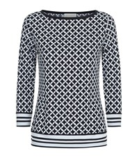 Michael Michael Kors Bermont Houndstooth Top Female Multi