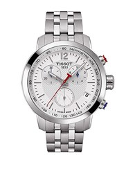 Tissot Nba Crystal Stainless Steel Watch Silver
