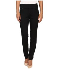 Fdj French Dressing Jeans D Lux Denim Pull On Slim Jegging In Ebony Ebony Women's Black