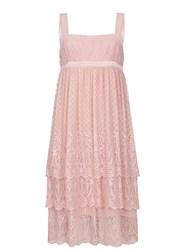 Ghost Lacey Dress Nude