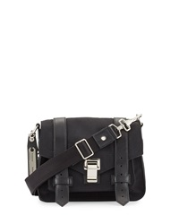 Proenza Schouler Ps1 Small Nylon Crossbody Bag Black