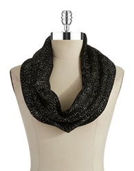 William Rast Knit Infinity Scarf Black