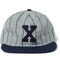 Xalapa Chileros Appliqued Wool Baseball Cap Gray