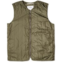 Norse Projects Ivan Fine Ripstop Vest Green