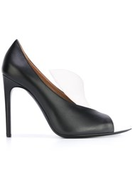 Pollini Colour Block Pumps Black