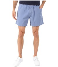 Vintage 1946 Garment Dyed Pull On Shorts Blueberry Men's Shorts