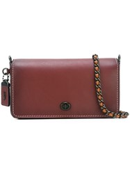 Coach Small 'Dinky' Crossbody Bag Red