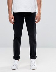 Cheap Monday Slack Slim Chino Black Stretch Black
