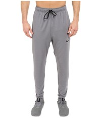Nike Dri Fit Fleece Training Pant Cool Grey Black Black Men's Casual Pants