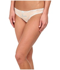 Betsey Johnson Bridal Thong Bride Pearl Women's Underwear Pink
