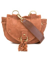 See By Chloe See By Chloe Small 'Collins' Crossbody Bag Brown