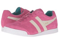 Gola Harrier Magenta Chateau Grey Enamel Blue Women's Shoes Pink