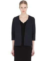 Esgivien Perforated Tulle And Neoprene Jacket