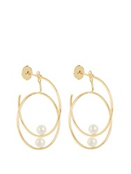 Anissa Kermiche Pearl And Yellow Gold Earring