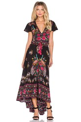 Spell And The Gypsy Collective Hotel Paradiso Maxi Dress Black