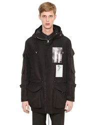 Givenchy Oversized Cotton Blend Parka