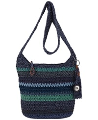 The Sak Casual Classics Crochet Crossbody Neptune Heather Stripe