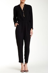 Eight Sixty Long Sleeve Jumpsuit Black