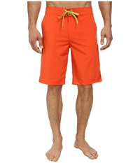 Prana Beacon Short Electric Orange Men's Swimwear