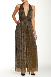 Endless Rose Shimmery Jumpsuit Metallic