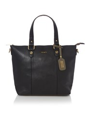 Ollie And Nic Orlando Black Trapeze Tote Bag Black