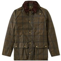 Barbour Seven Beattock Wax Jacket Green