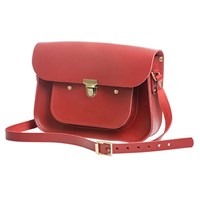 N'damus London Apple 11 Inches Mini Pocket Satchel Red