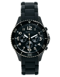 Marc By Marc Jacobs Mbm2583 Rock Chrono Watch Black