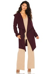 Soia And Kyo Samia Coat Wine