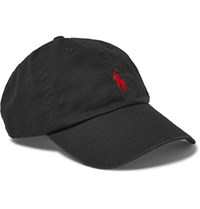 Polo Ralph Lauren Cotton Twill Baseball Cap Black