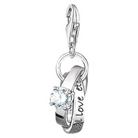 Thomas Sabo Charm Club Wedding Rings Charm Silver