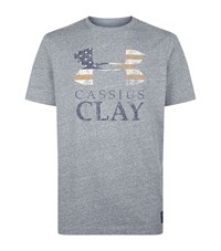 Under Armour Underarmour Cassius Clay T Shirt Male Dark Grey