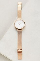 Anthropologie Rosie Gold Watch Copper
