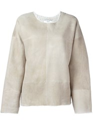 Iro 'Melor' Sweatshirt Nude And Neutrals