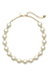 Women's Kate Spade New York Faux Pearl Collar Necklace