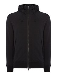 Duck And Cover Men's District Funnel Neck Hoody Black