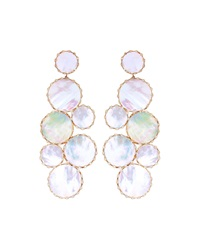 Riviera Mother Of Pearl Mega Ibiza Earrings Lana