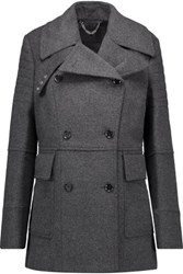 Belstaff Fayer Wool And Cashmere Blend Coat Charcoal