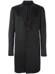 Paul Smith Ps By Classic Overcoat Grey