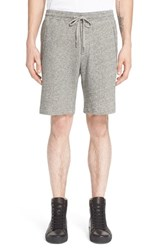 Men's The Kooples Cotton Melange Sweat Shorts