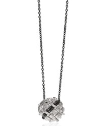 Michael Aram Ss Pendant W Black Diamond