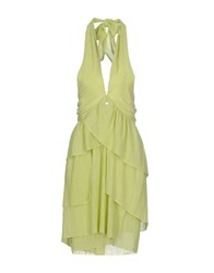 Denny Rose Dresses Short Dresses Women Light Green
