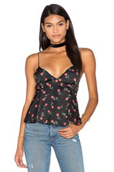 Motel Losa Top Black