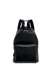 Anya Hindmarch 'Smiley' Leather Backpack
