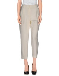 Burberry London Trousers Casual Trousers Women Ivory