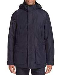 Barbour Scupper Hooded Waterproof Jacket Navy