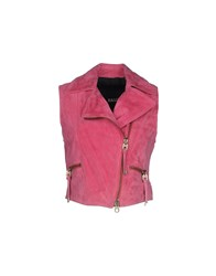 Bally Coats And Jackets Jackets Women Fuchsia